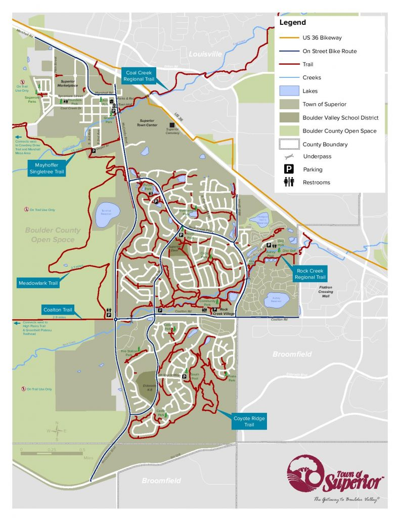 Superior Trail Map