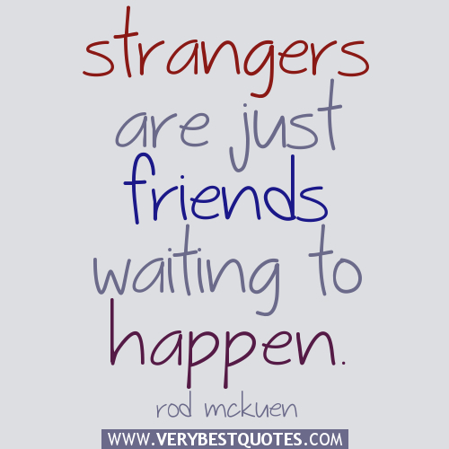 Strangers to Friends with Carlyn Shaw