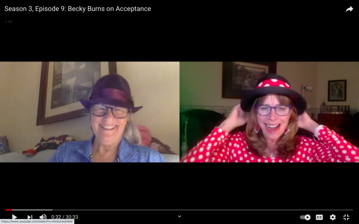 Acceptance with Rebecca Burns